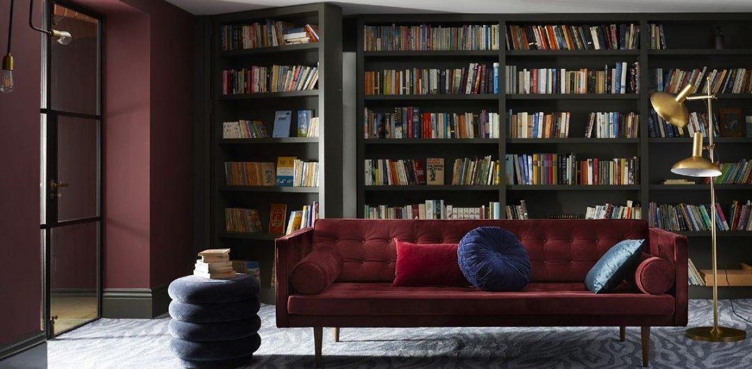 Carpetright bookcase Zebra carpet