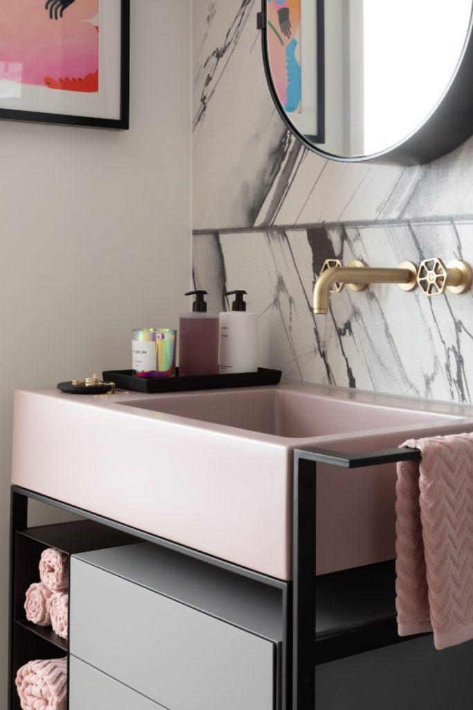 West One bathroom basin detal