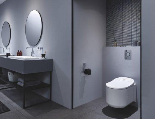 Grohe Sensia shower toilet