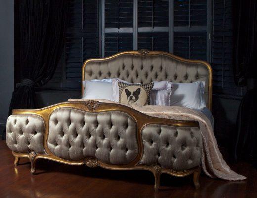 Dark interiors French Bedroom Company