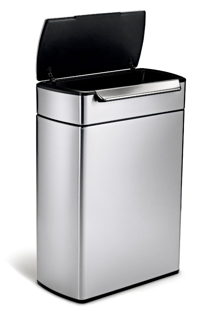 Simplehuman touch-free bin