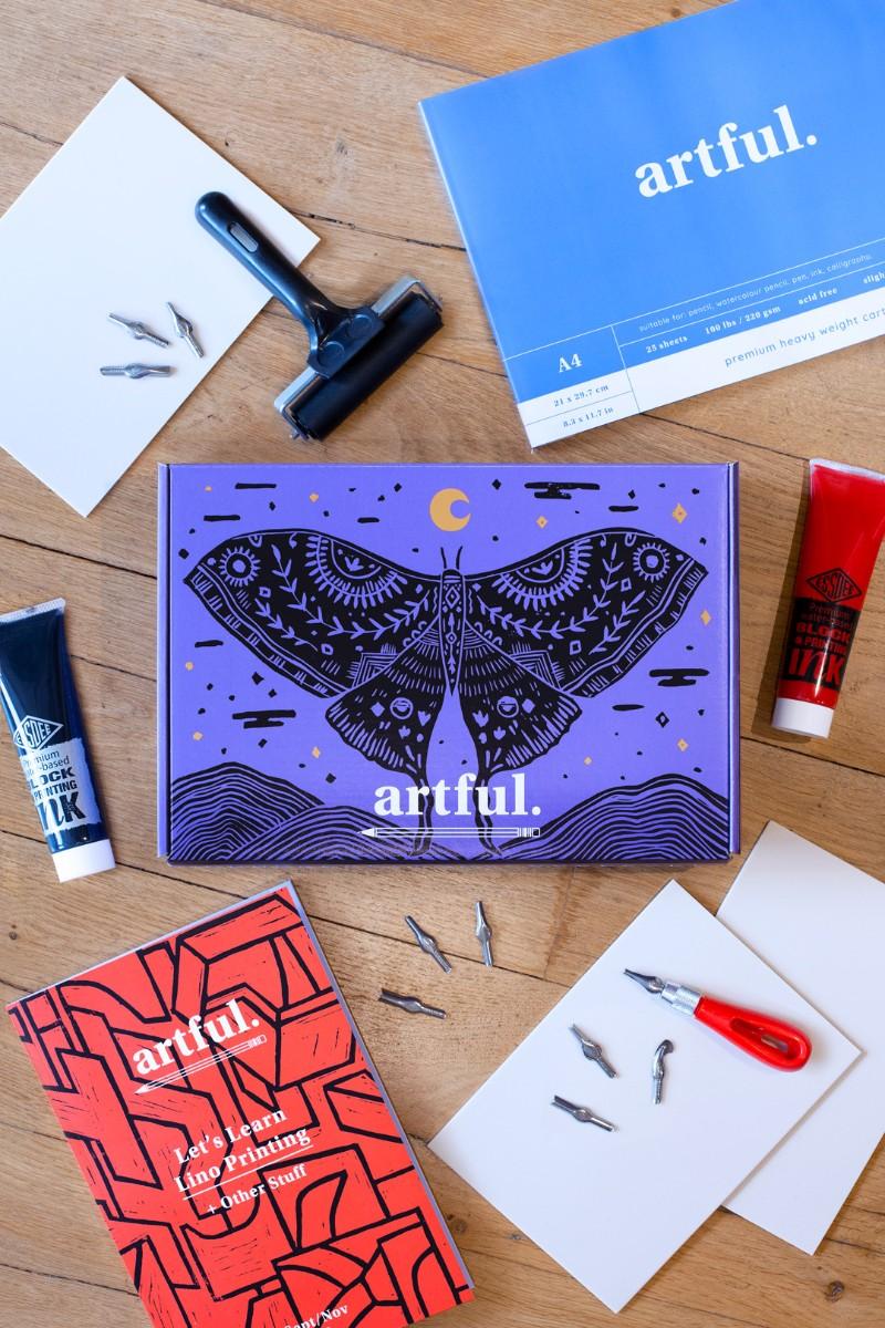 Artful subscription box