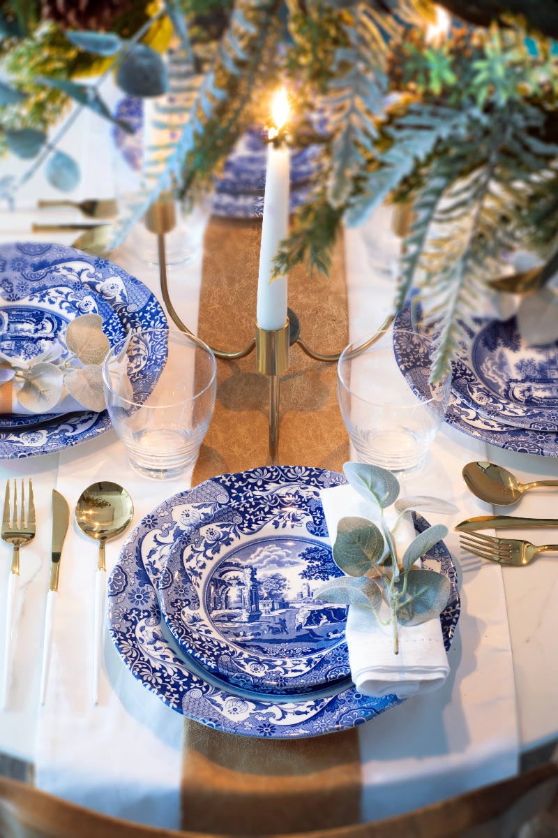 Christmas tablescaping ideas