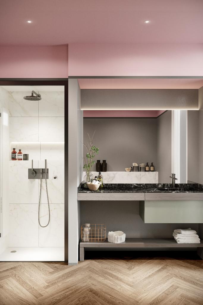Elegant modern bathrooms