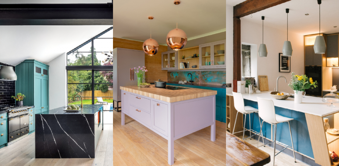 How To Choose The Right Kitchen Island Which Shape Is Best These Three Rooms