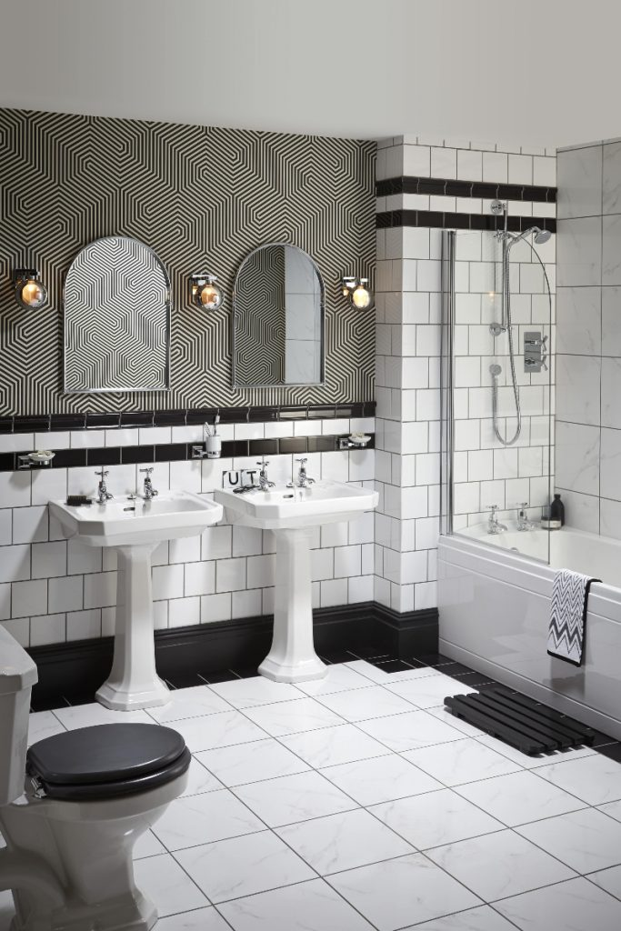 Art Deco bathrooms