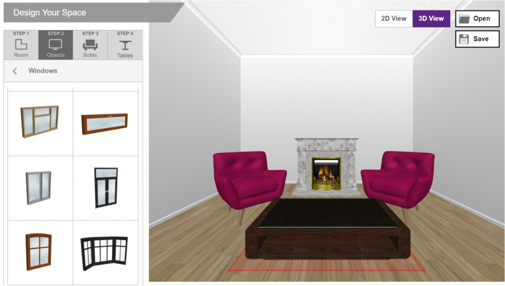 Virtual home decorating tools