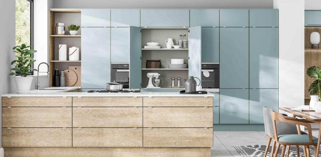 Scandi-style kitchen