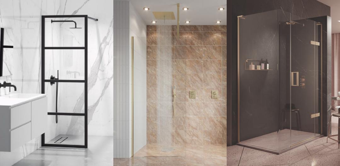 Wetroom shower screen ideas