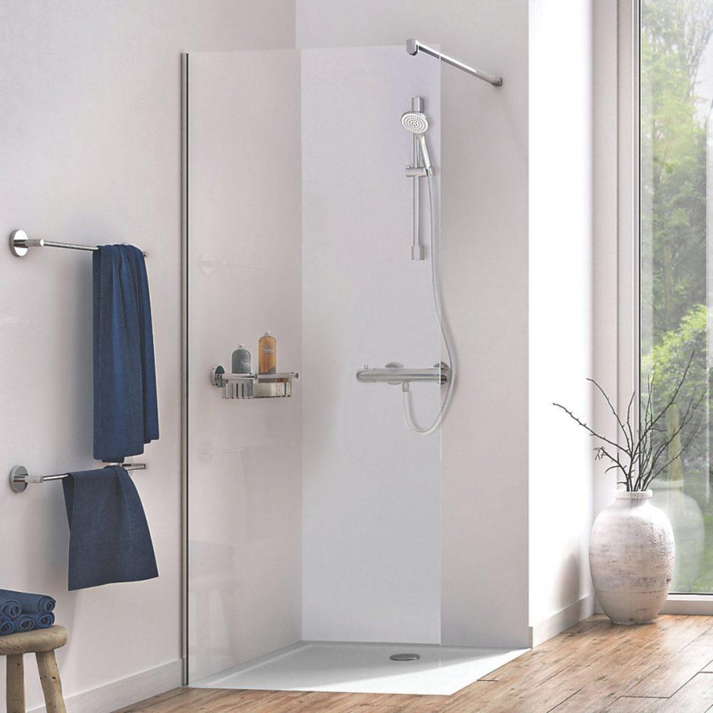 wetroom shower screen