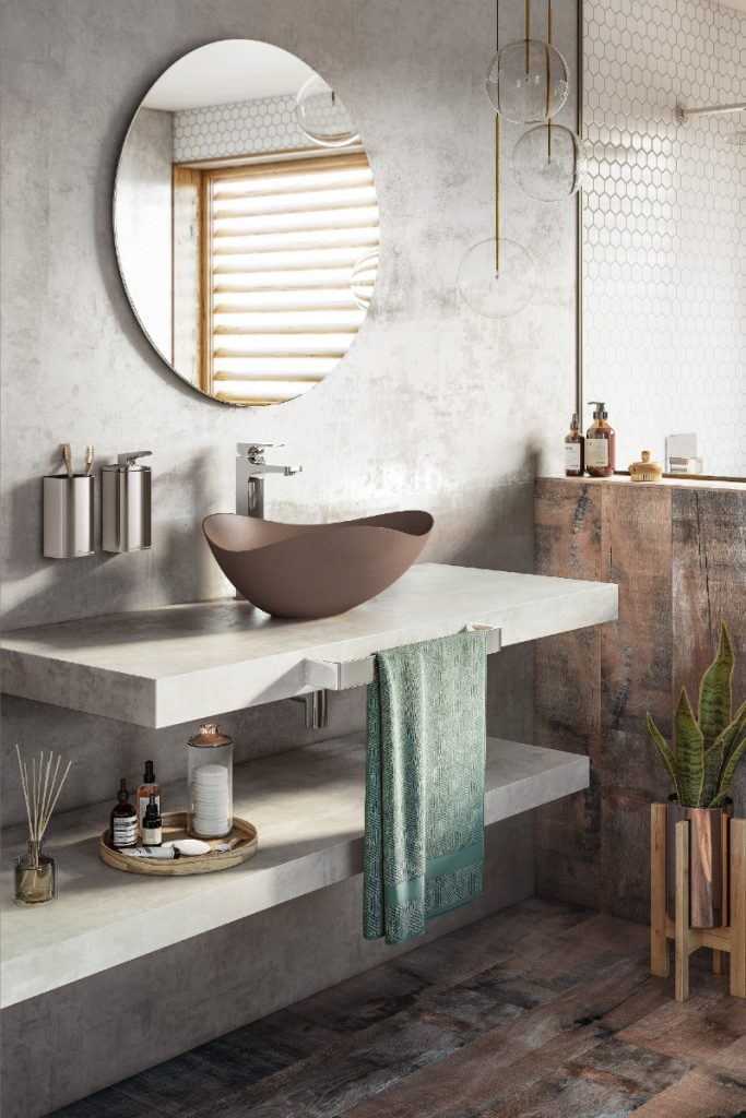Roca Ruy Ohtake basin design my bathroom